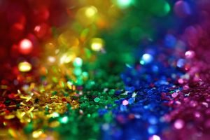 Nationale Coming Out Dag Glitters