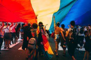 LGBT+ protest